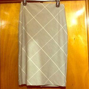 Grey pencil skirt - Express